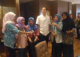 Chef Juna meet and greet di MYKO Hotel