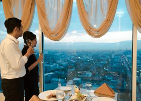 d'Olea dengan Pemandangan Fantastis di MYKO Hotel & Convention Center